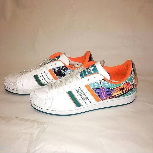 Rizo director Invalidez  adidas Shoes   Adidas Half Shells City Miami   Poshmark